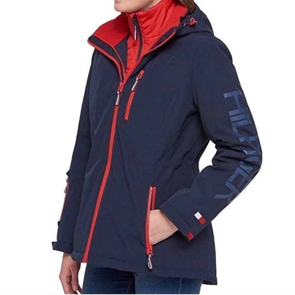 good quality official images wholesale sales Tommy Hilfiger 3 in 1 All Weather System Jacket